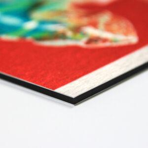 Stampa digitale di grande formato su alluminio Dibond a Torino