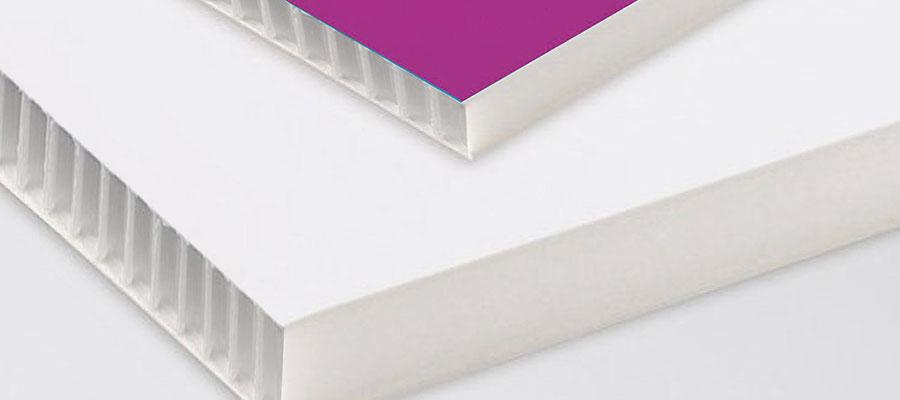 pannello stampa diretta su polionda alveolare, stampa, torino
