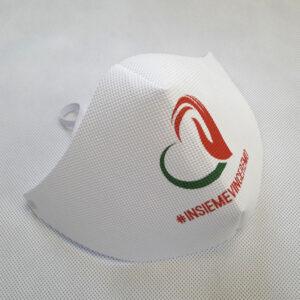 Mascherine personalizzate con logo Insieme Vinceremo