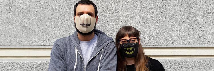 mascherine personalizzate in tnt lavabili