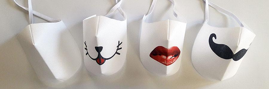 mascherine personalizzate e personalizzabili in tnt